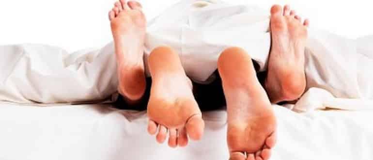 ноги мужчины и женщины