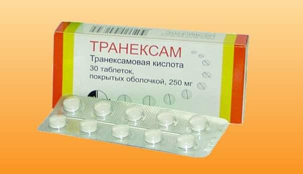 Таблетки от сильного кровотечения при месячных 31